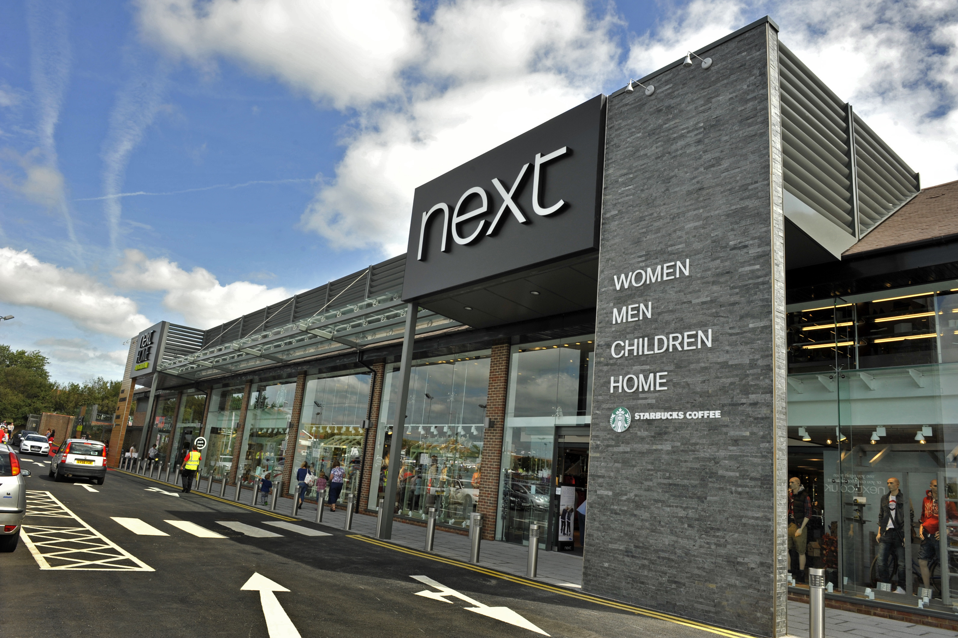 More stores next plc for Shopping for home